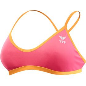 TYR Solid Trinity bikini Dames roze